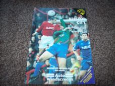 Bristol City v Oldham Athletic, 1994/95